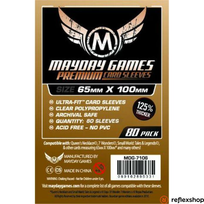 Mayday Games Premium Magnum Copper kártyavédő (80 db-os csomag) 65 x 100 mm