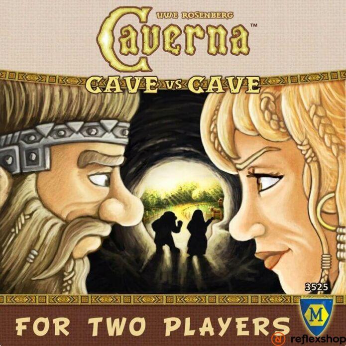 Caverna: Cave vs Cave angol nyelvű társasjáték