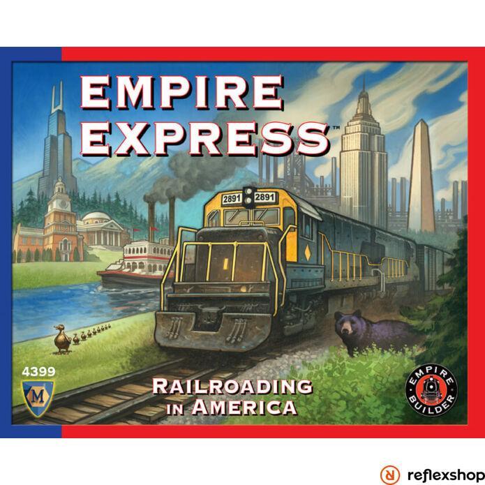 Empire Express társasjáték angol nyelv?
