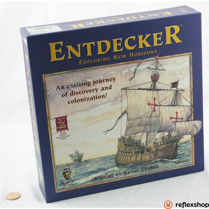 Entdecker: Exploring New Horizons társasjáték, angol nyelv?