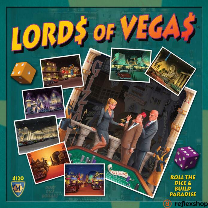 Lords of Vegas társasjáték angol nyelvű
