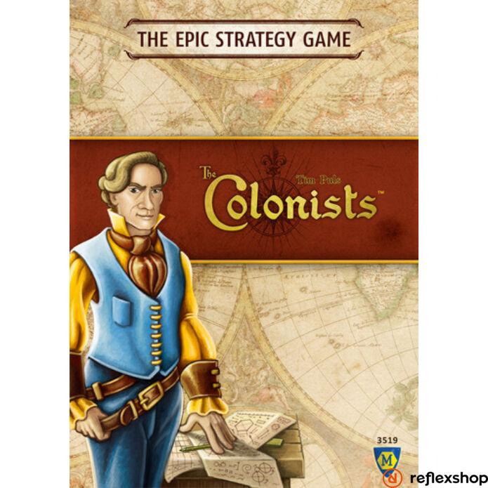 Colonists társasjáték, angol nyelvű