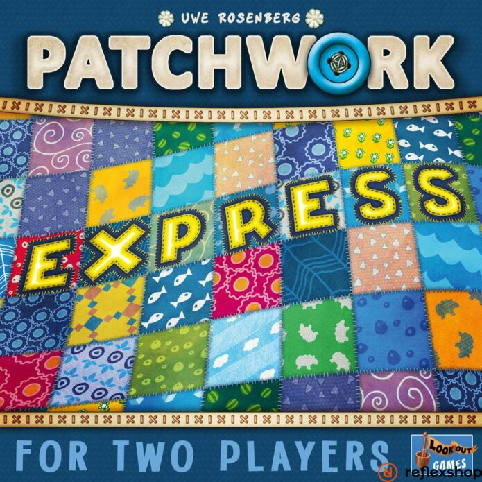 Patchwork Express társasjáték, angol nyelvű