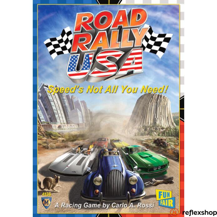 Road Rally USA társasjáték angol nyelv?