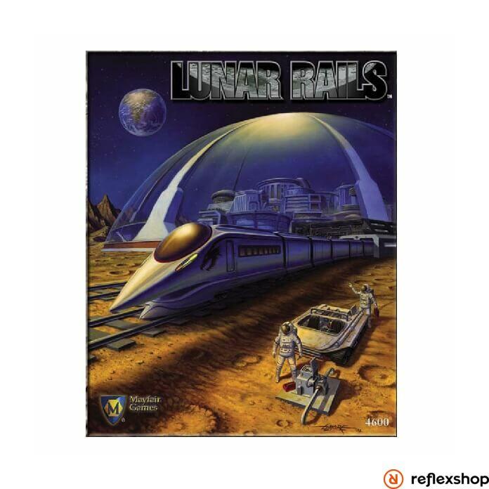 Lunar Rails társasjáték angol nyelven