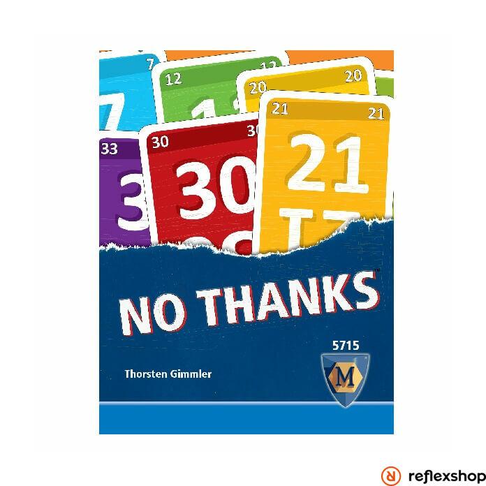 No Thanks angol nyelv? kártyajáték