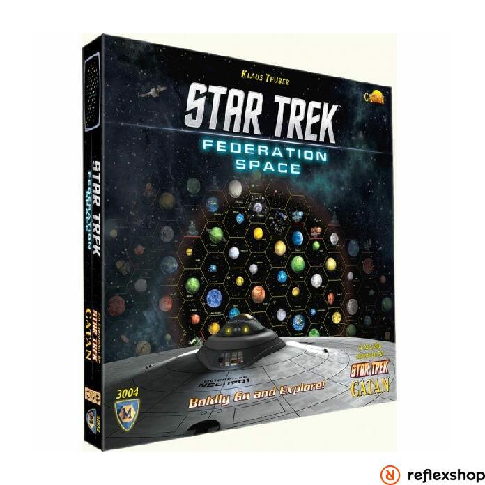 Star Trek: Catan - Federation Space Map angol nyelvű társasjáték