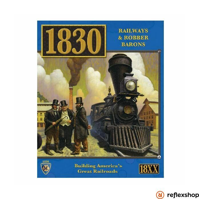 1830 Railways & Robber Barons - North East US angol nyelv? társasjáték