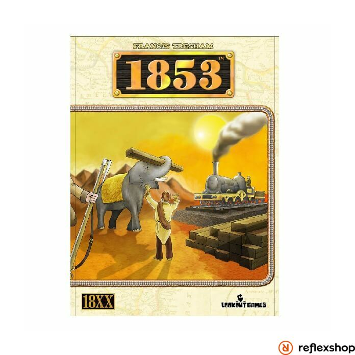 1853 India társasjáték angol nyelv?