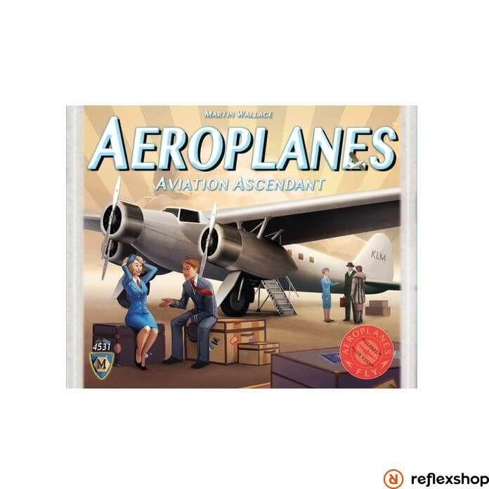 Aeroplanes Aviation Ascendant társasjáték angol nyelv?