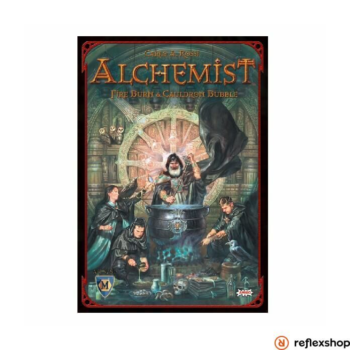 Alchemist társasjáték angol nyelv?