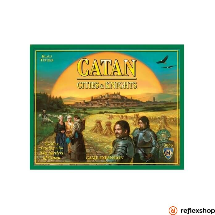 Catan: Cities & Knights Game Expansion angol nyelv?