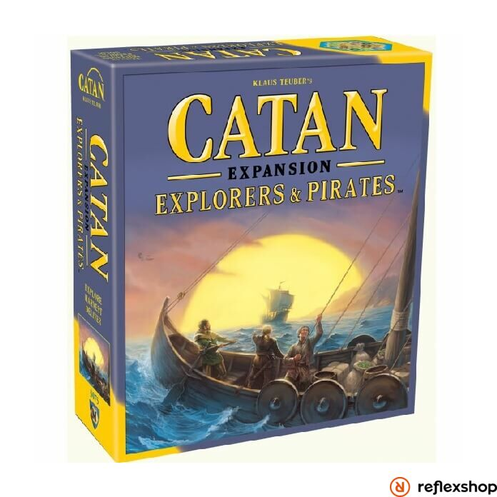 Catan: Explorers & Pirates angol nyelvű