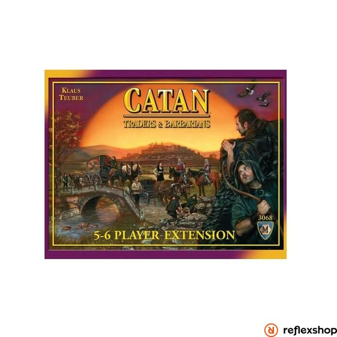 Catan: Traders & Barbarians 5-6 Player Extension angol nyelv?
