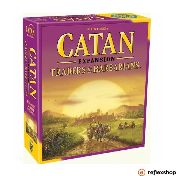 Catan: Traders & Barbarians Expansion angol nyelv?