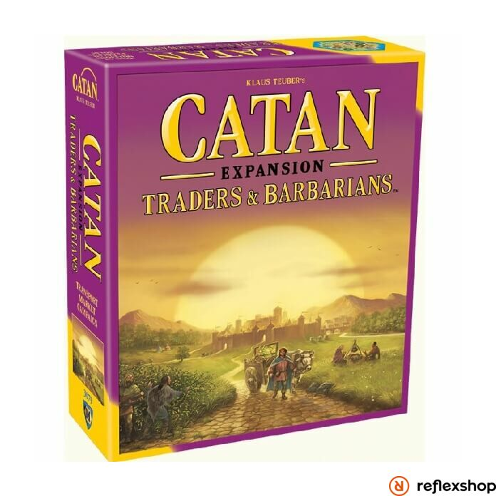 Catan: Traders & Barbarians Expansion angol nyelv?