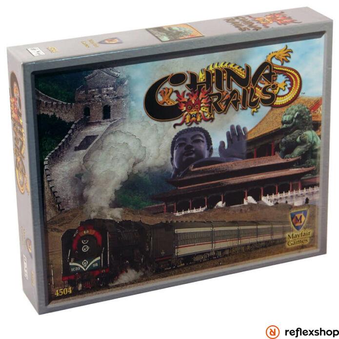 China Rails társasjáték, angol nyelvű