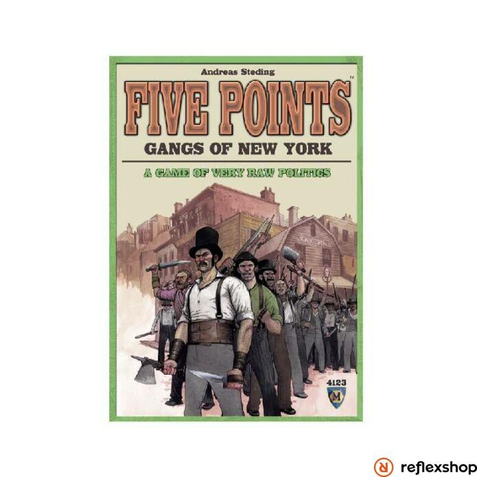 Five Points - Gangs of New York társasjáték angol nyelv?