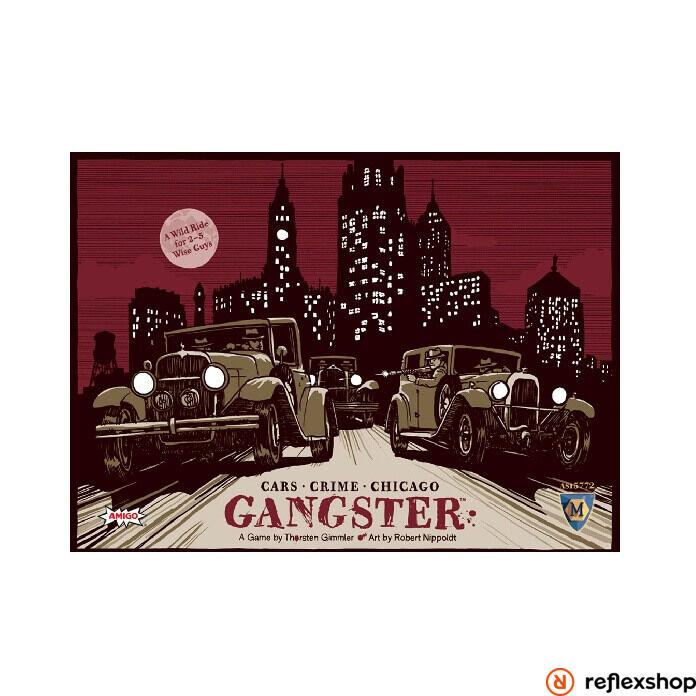 Gangster társasjáték angol nyelv?