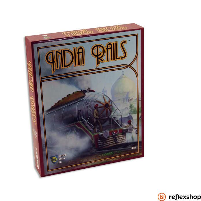 India Rails társasjáték angol nyelv?