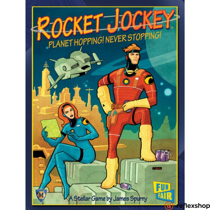 Rocket Jockey társasjáték, angol nyelvű