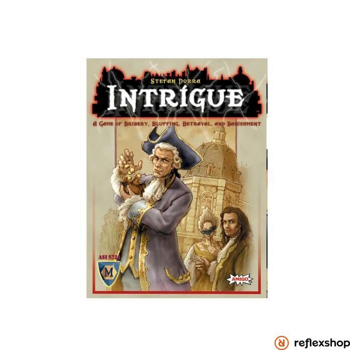 Intrigue társasjáték angol nyelv?