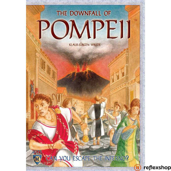 The Downfall of Pompeii társasjáték angol nyelv?