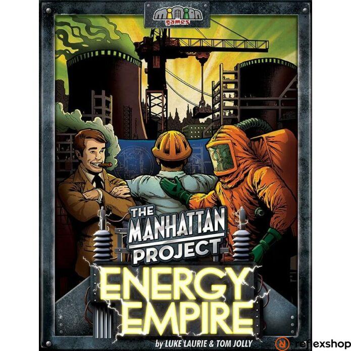 Manhattan Project: Energy Empire angol nyelvű társasjáték