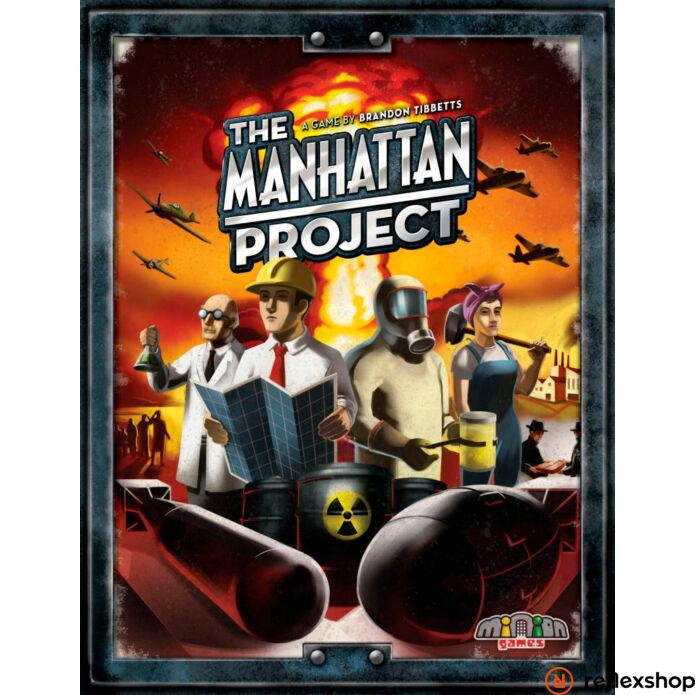 Manhattan Project angol nyelvű társasjáték