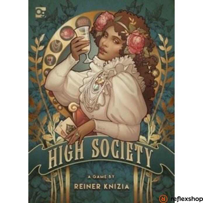 High Society társasjáték, angol nyelvű
