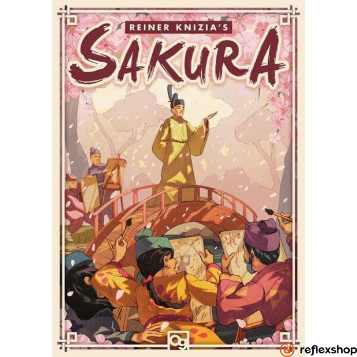 Sakura társasjáték, angol nyelvű