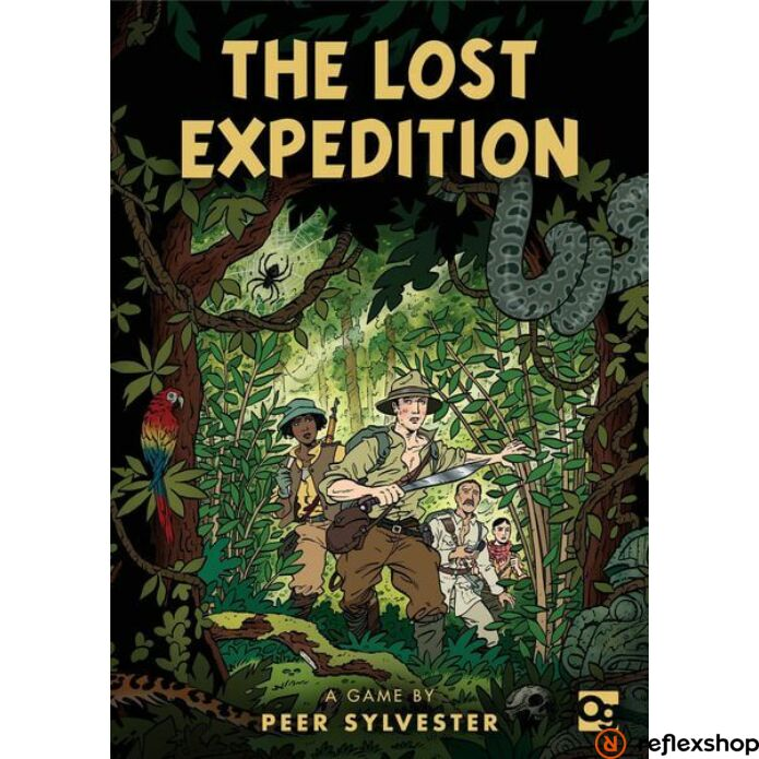 Lost Expedition társasjáték, angol nyelvű