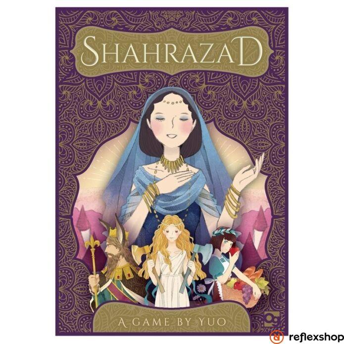 Shahrazad társasjáték, angol nyelvű