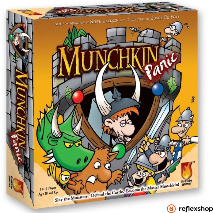 Munchkin Panic angol nyelvű társasjáték