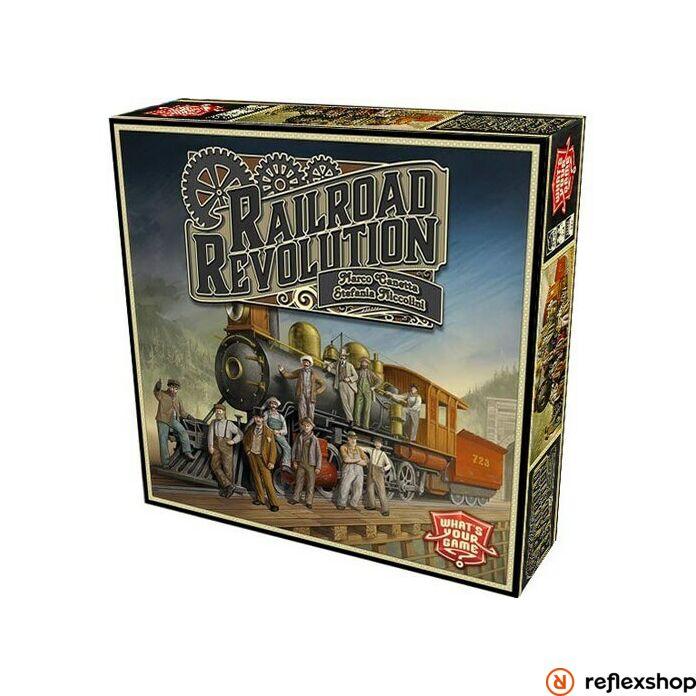 Railroad Revolution társasjáték, angol nyelvű