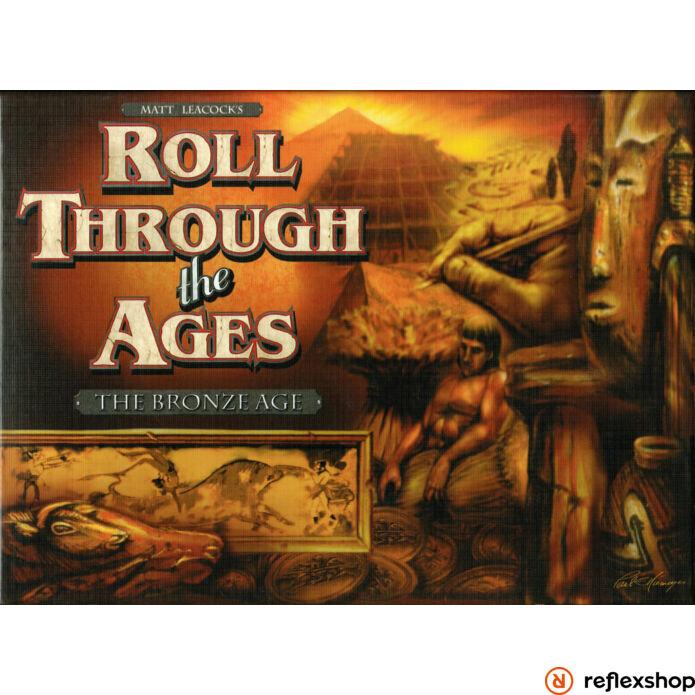 Roll Through The Ages: Bronze Age társasjáték, angol nyelvű