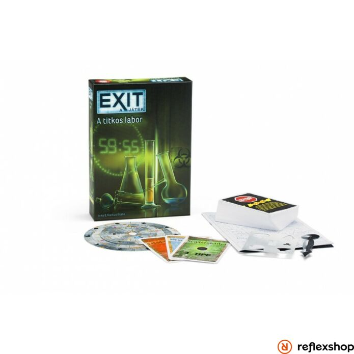 Exit 2. A titkos labor társasjáték