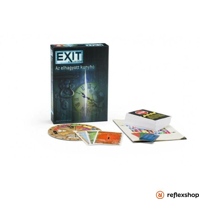 Exit 1. Az elhagyatott kunyhó szabaduló társasjáték