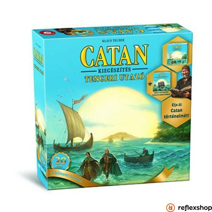 Catan Tengeri utazó kiegészítő Jubileumi kiadás