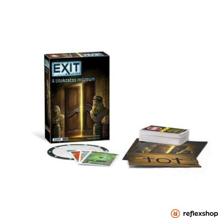Exit 9. - A titokzatos múzeum szabaduló társasjáték