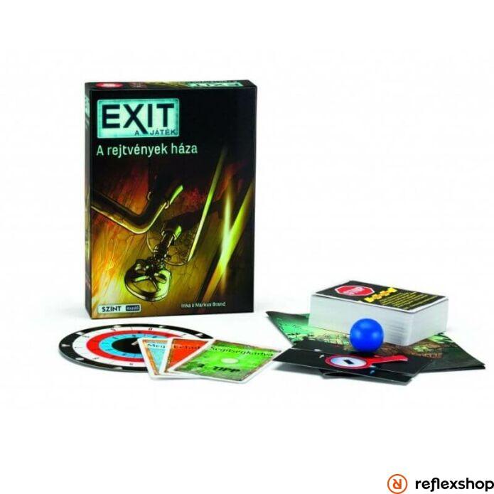 Exit 11. - A rejtvények háza borító