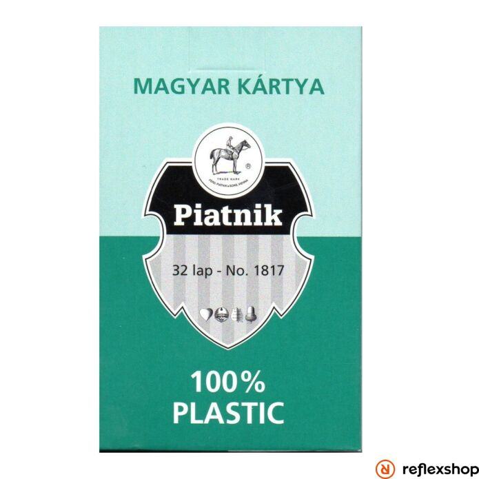 Piatnik Plasztik Magyar kártya