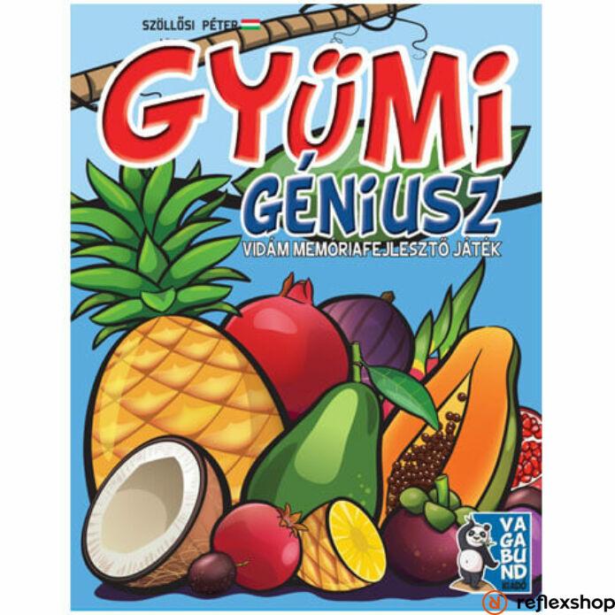 Gyümi kártya géniusz társasjáték