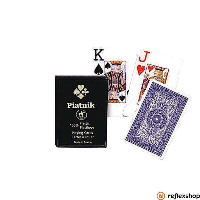 Piatnik plasztik póker kártya 4 indexes m?anyag dobozos