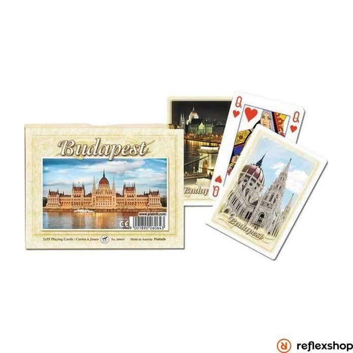 Szuvenír römi kártya - Budapest