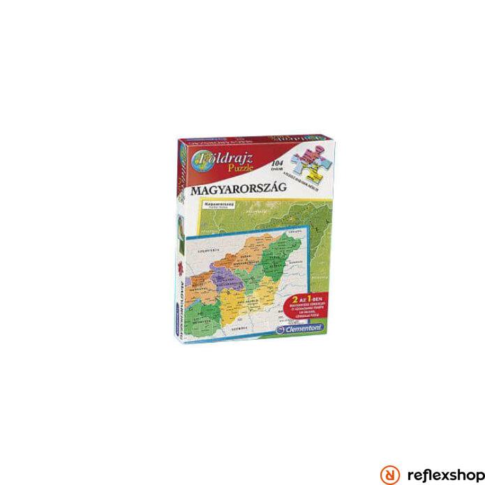 Clementoni Geo puzzle társasjáték