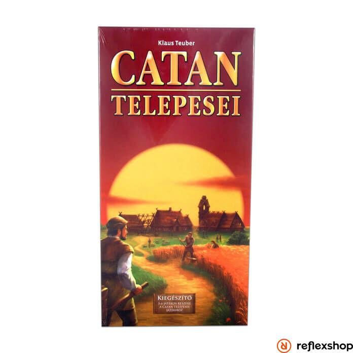 Catan társasjáték kiegészítő 5-6 főre