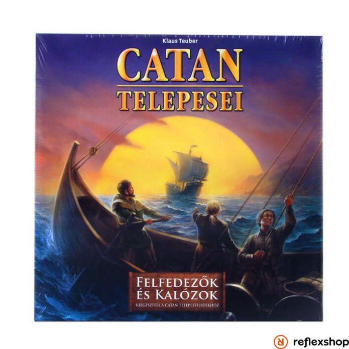 Catan Felfedezők és Kalózok kiegészítő