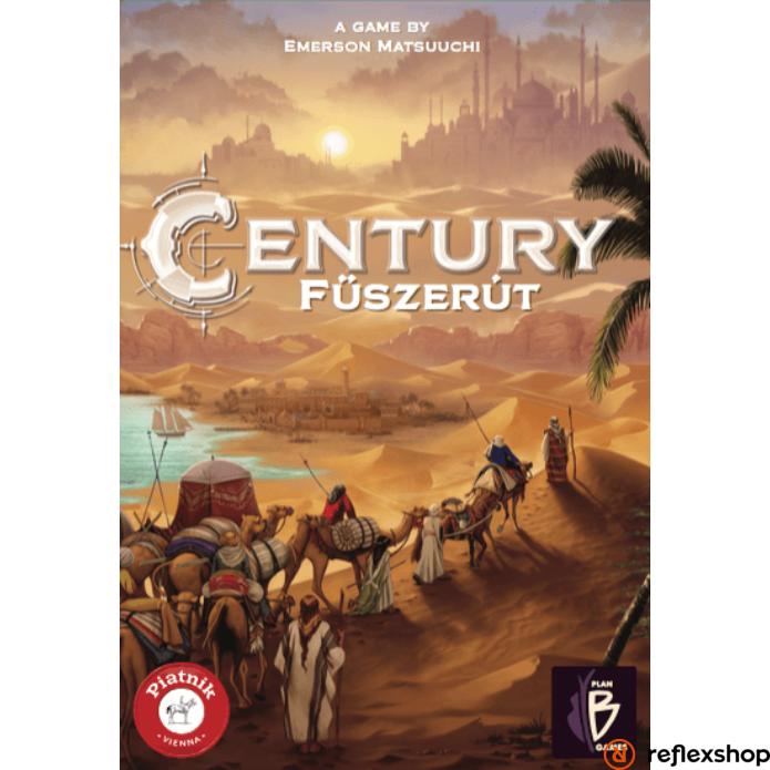 Piatnik Century Fűszerút társasjáték