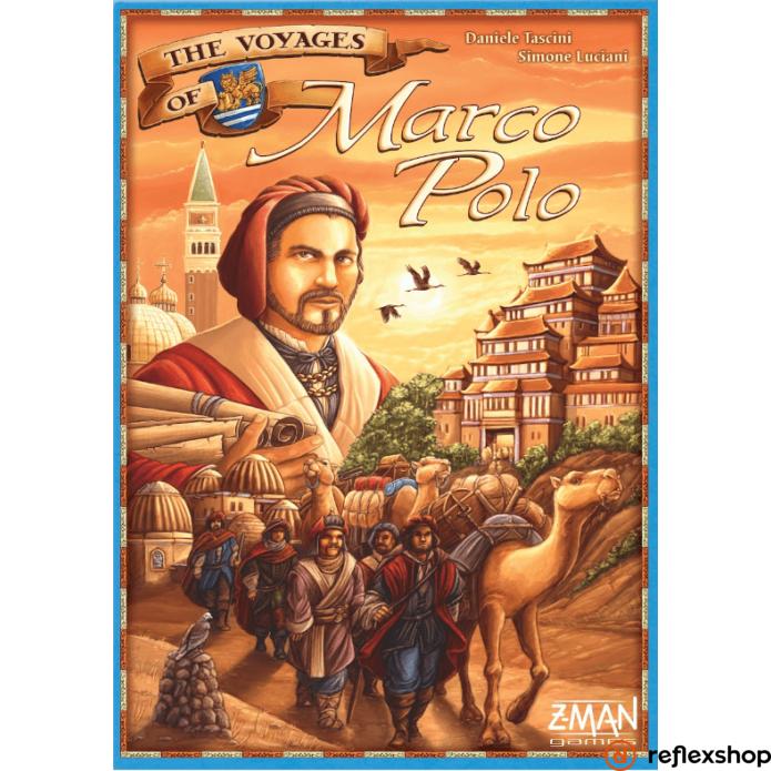 Piatnik Marco Polo társasjáték